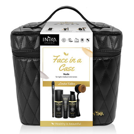Inika Limited Edition Face in a Case - Nude