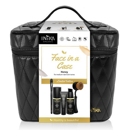 Inika Limited Edition Face in a Case - Honey