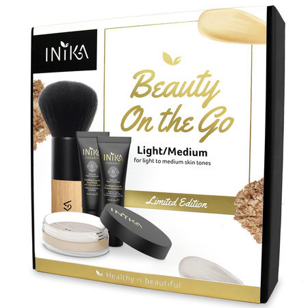 Inika Limited Edition Beauty on the Go - Light/Medium