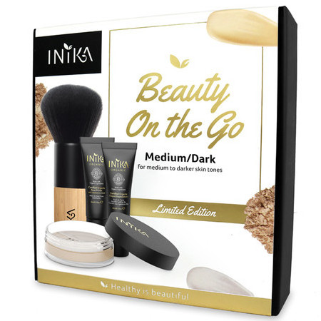 Inika Limited Edition Beauty on the Go -Medium/Dark