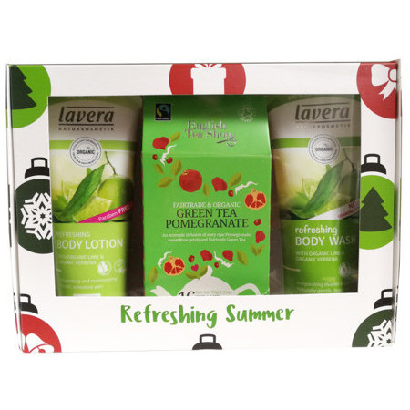 Lavera  + English Tea Shop Limited Edition Refreshing Summer Gift Pack