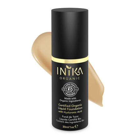 Inika Certified Organic Liquid Mineral Foundation - Tan