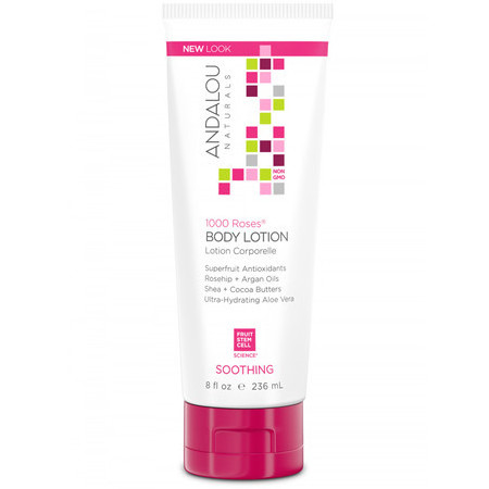 Andalou Naturals 1000 Roses® Soothing Body Lotion