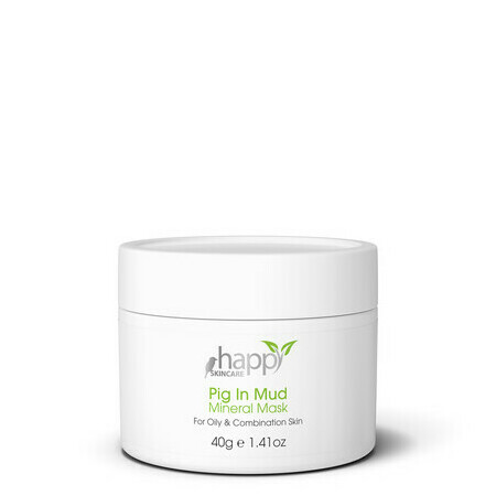 Happy Skincare 'Pig in Mud' Mineral Mask - Oily/Combination