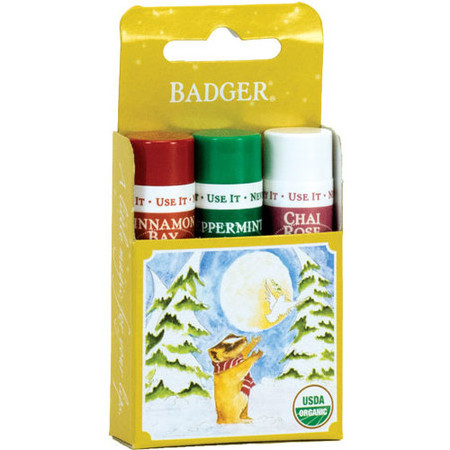 Badger Balm - Lip Balm Pack Gold