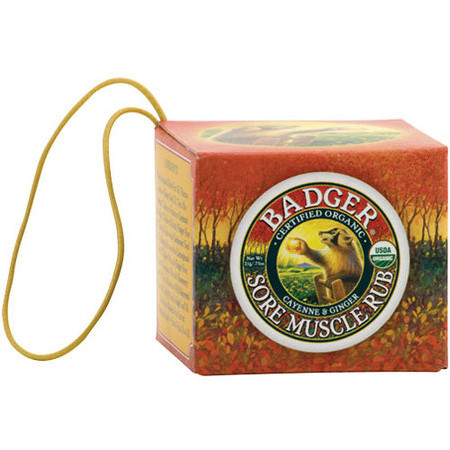 Badger Balm - Sore Muscle Rub Ornament