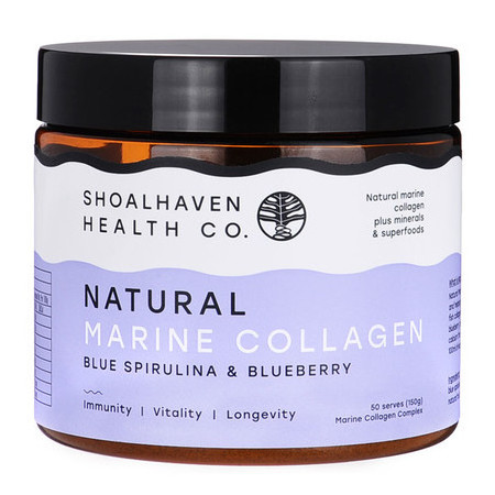 Shoalhaven Health Co. Natural Marine Collagen - Blueberry