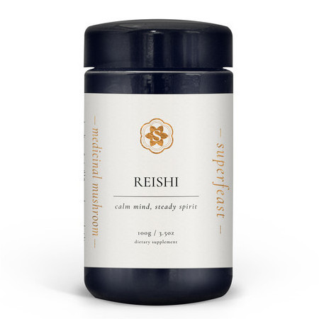 SuperFeast Wild-Crafted Reishi Mushroom Powdered Extract