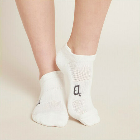 BOODY Bamboo Active Women's Sports Socks - White