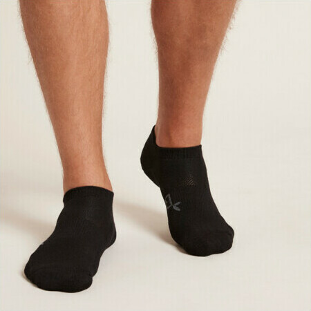 BOODY Bamboo Active Men's Sports Socks - Black