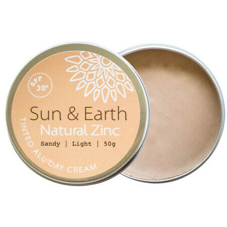Sun & Earth Natural Zinc Tinted All Day Cream