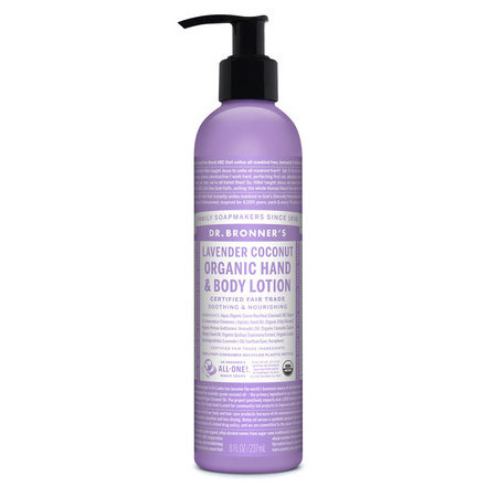 Dr Bronner's Organic Hand & Body Lotion - Lavender Coconut