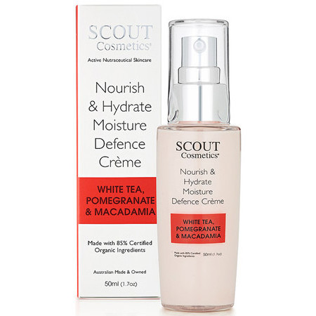 SCOUT Cosmetics Nourish & Hydrate Moisture Defence Crème