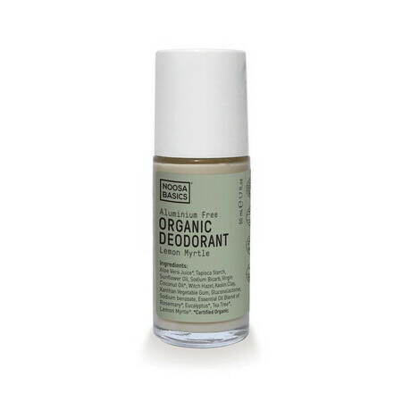 Noosa Basics Organic Roll On Deodorant - Lemon Myrtle