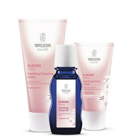 Weleda Almond Soothing Set for Sensitive/Dry Skin