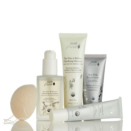 100% Pure Skin Care Pack - Normal to Oily
