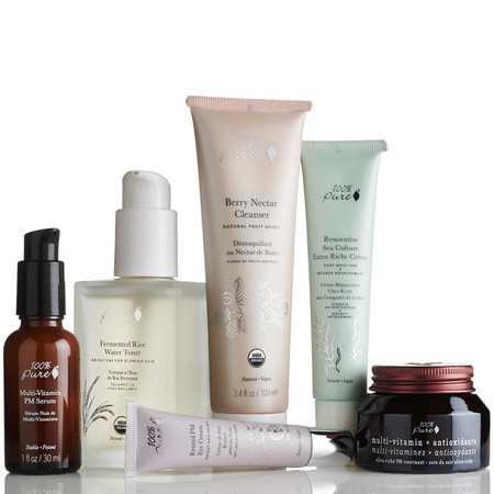 100% Pure Skin Care Pack - Mature