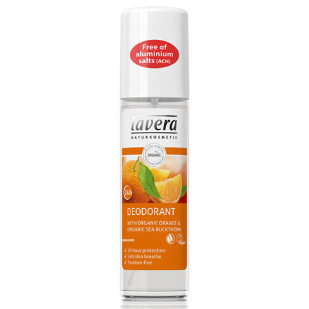 Lavera Spray Deodorant with Organic Orange & Organic Sea Buckthorn