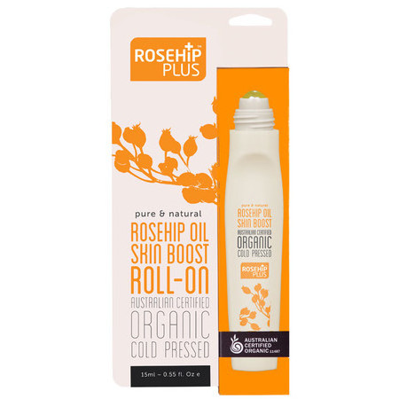 RosehipPLUS™ Australian Certified Organic Rosehip Oil Skin Boost Roll-On