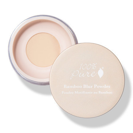 100% Pure Bamboo Blur Setting Powder - Light