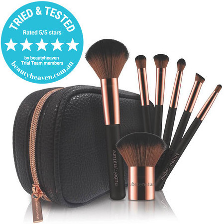 Nude By Nature Essential Collection Brush Set - 7 Piece