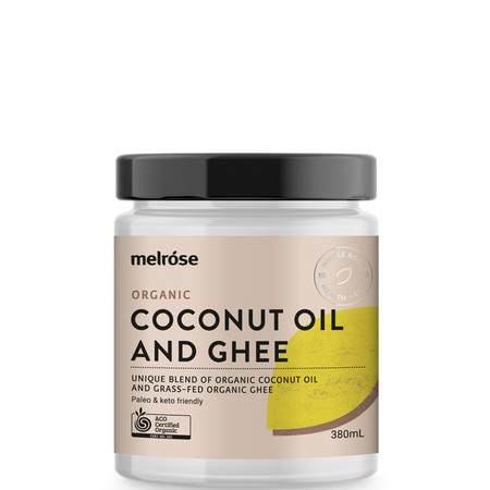 Melrose Organic Coconut Oil and Ghee
