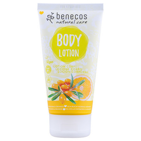 Benecos Natural Body Lotion - Sea Buckthorn & Orange