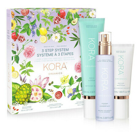 KORA Organics 3 Step System - Sensitive Skin