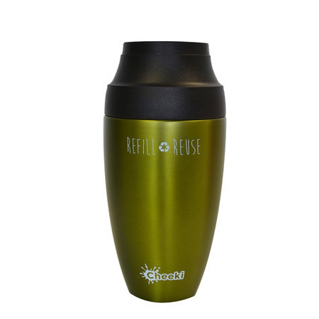 Cheeki 350ml Coffee Mug - Olive