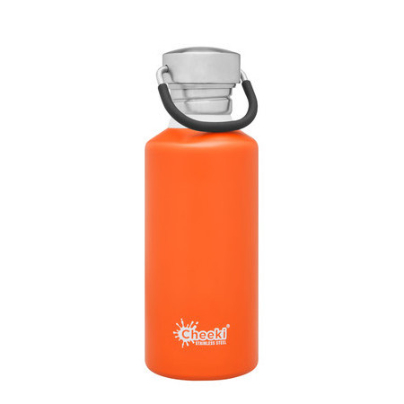 Cheeki Classic Single Wall Bottle 500ml - Orange