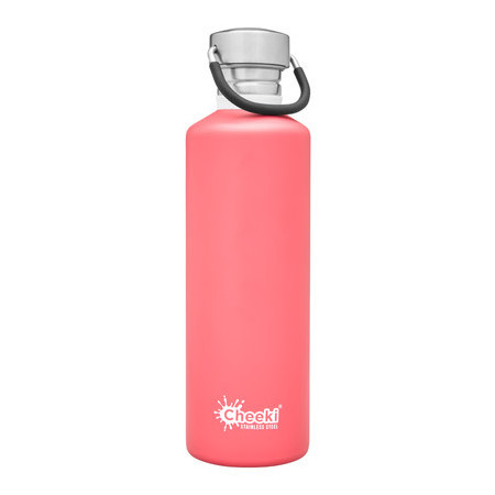 Cheeki Classic Single Wall Bottle 750ml - Dusty Pink