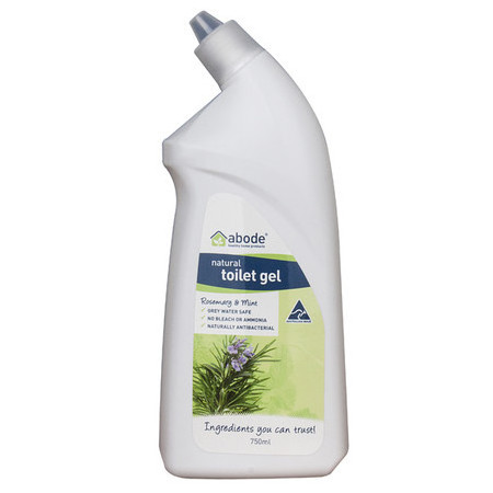 Abode Natural Toilet Cleaner Gel - Rosemary & Mint