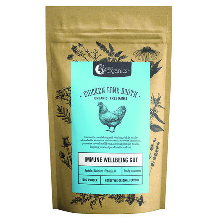 Nutra Organics Chicken Bone Broth Powder - Homestyle Original