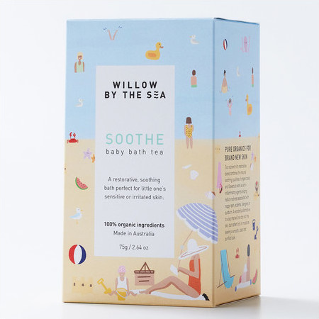 Willow By The Sea SOOTHE Baby Bath Tea