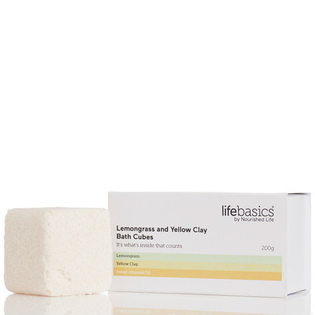 Life Basics Bath Cube Set - Lemongrass