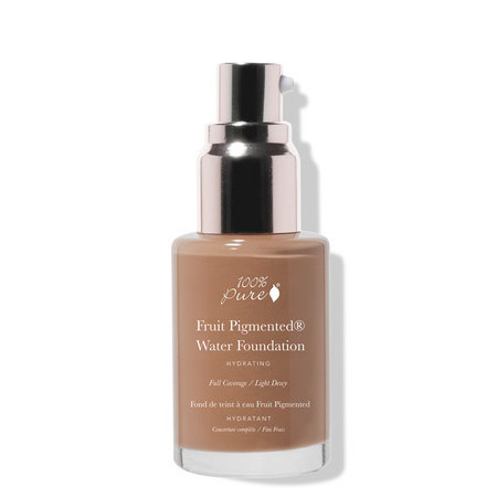100% Pure Fruit Pigmented Full Coverage Water Foundation - Olive 4.0