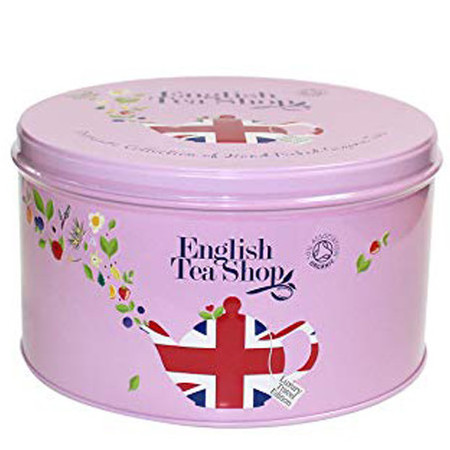 English Tea Shop - Organic Round Gift Tin - Union Jack