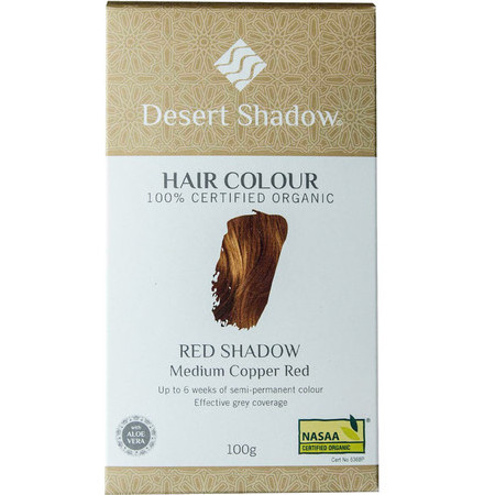 Desert Shadow Organic Hair Dye - Red Shadow
