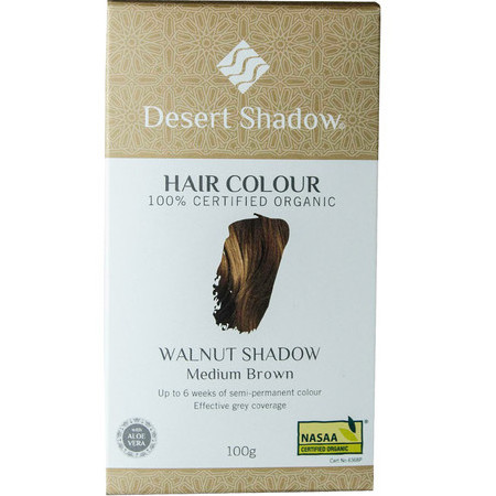 Desert Shadow Organic Hair Dye - Walnut Shadow