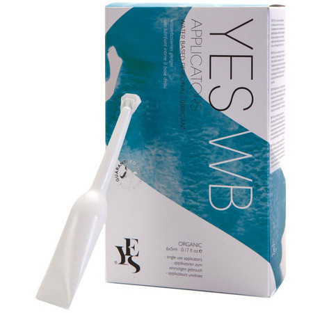 YES WB Water Based Personal Lubricant - Prefilled Applicators