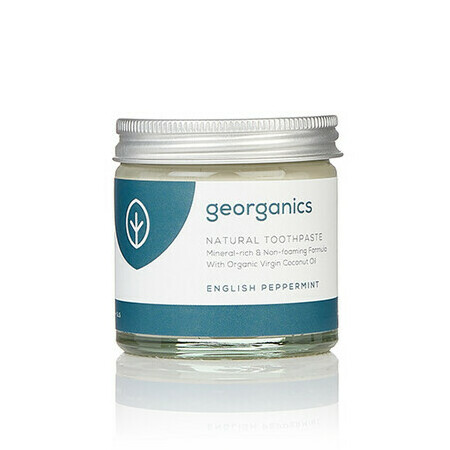 Georganics Toothpaste - English Peppermint