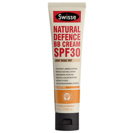 Swisse Natural Defence BB Cream SPF 30 - Light Beige (L/M)