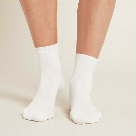 Boody Women's Everyday Ankle Sock - White
