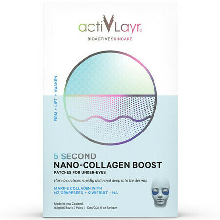 ActivLayr 5 Second Nano-Collagen Boost Under-Eye Patches