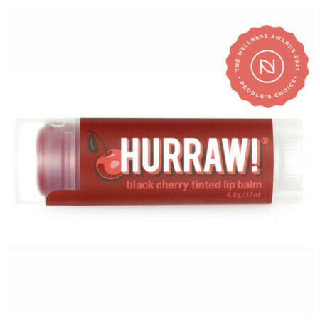 Hurraw! Organic Lip Balm - Black Cherry