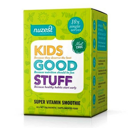 NuZest Kids Good Stuff Sachets - Mint Choc