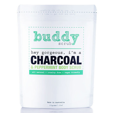 Buddy Scrub - Charcoal & Peppermint