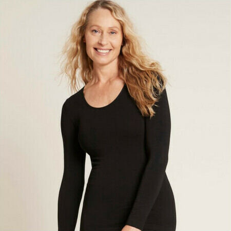 Boody Long Sleeve Top - Black