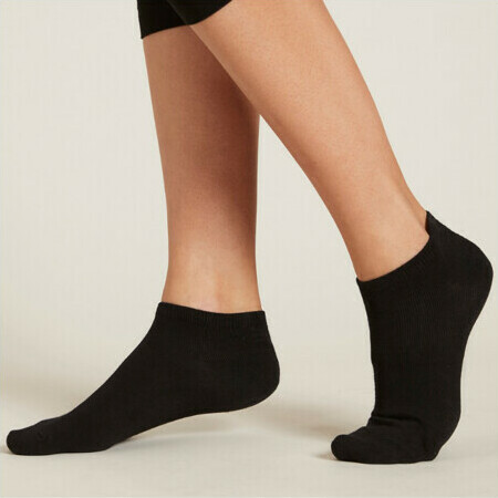 Boody Women's Low Cut Socks - Black