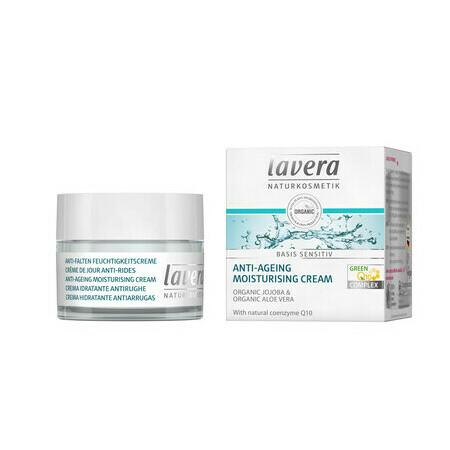Lavera Basis Anti-Ageing Moisturising Cream with Q10